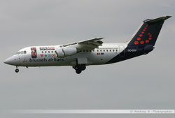 Avro RJ100 Brussels Airlines - OO-DJV