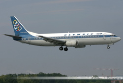 Boeing 737 Olympic - SX-BKE