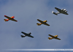 Dutch Historic Flight Formation