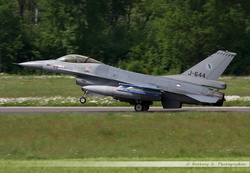 F-16 Netherlands Air Force - J-644