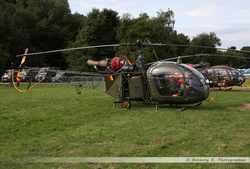Alouette 2 Belgian Army - A61