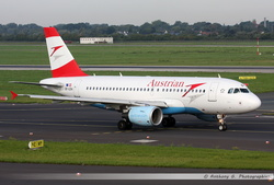 Airbus A319 Austrian Airlines - OE-LDA