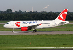 Airbus A319 Czech Airlines - OK-NEP
