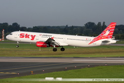 Airbus A321 Sky Airlines - TC-SKI