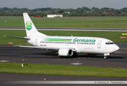 Boeing 737 Germania - D-AGEE
