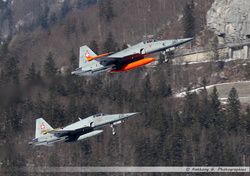 F-5 Swiss Air Force duo take-off