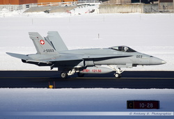 F-18 Swiss Air Force - J-5003