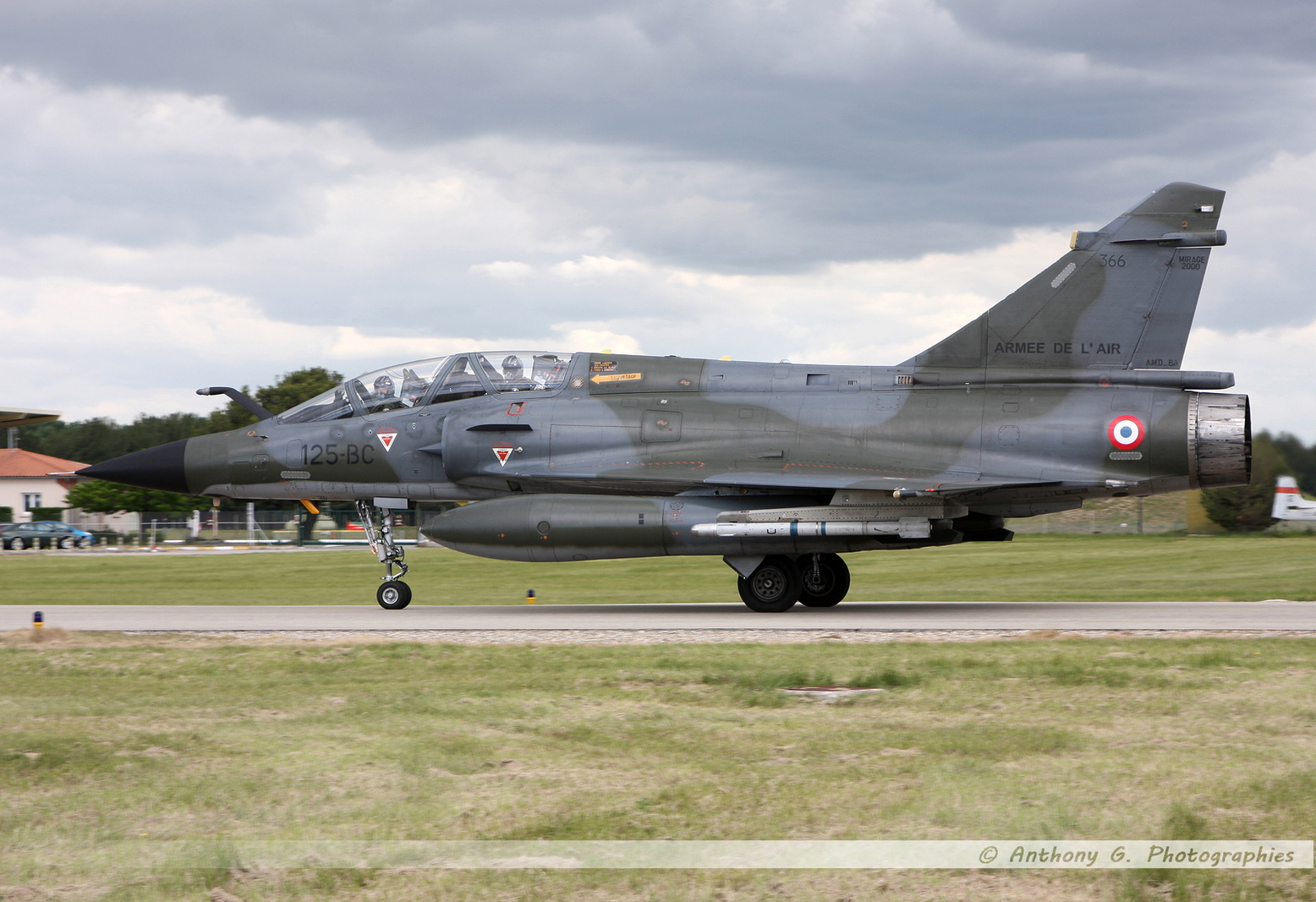 Mirage 2000N French Air Force - 125-BC