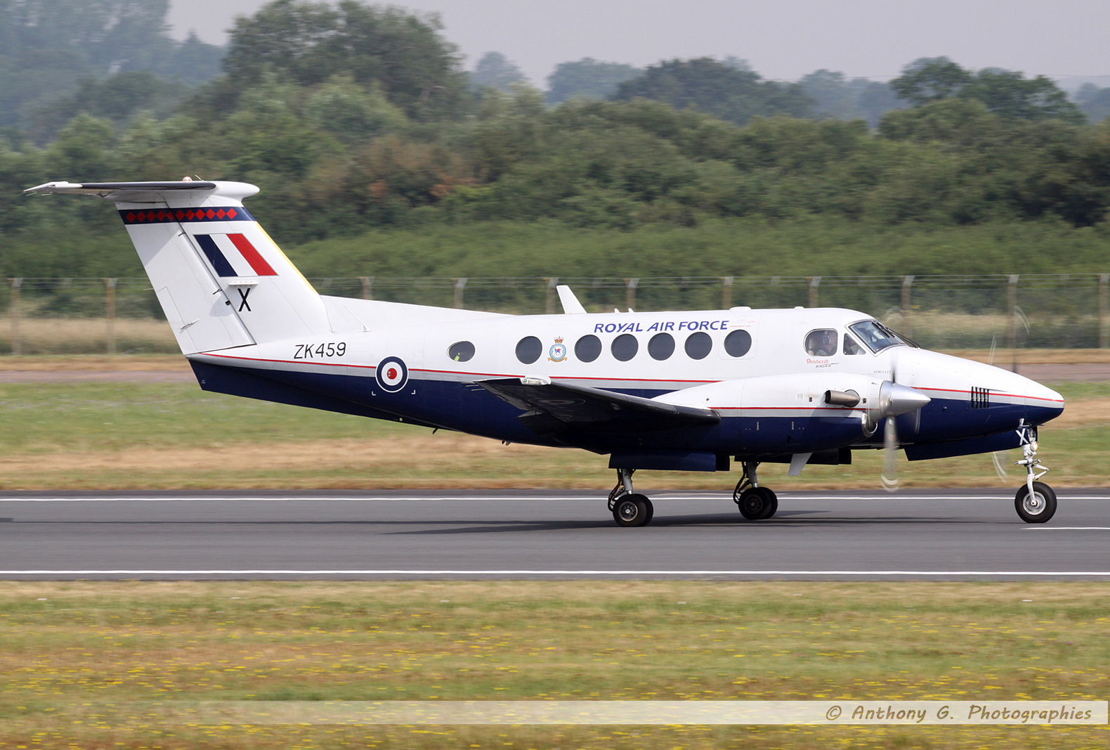 King Air 200 Royal Air Force - ZK459.jpg