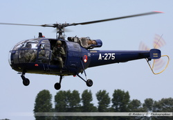 Alouette 3 Netherlands Air Force - A-275