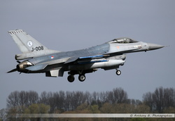 F-16 Netherlands Air Force - J-008