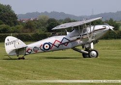 Hawker Demon - G-BTVE