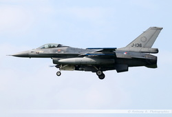 F-16 Netherlands Air Force - J-136