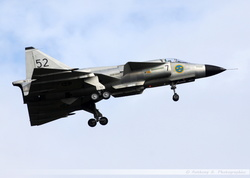 Saab Viggen Swedish Historic Flight - SE-DXN