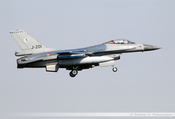 F-16 Netherlands Air Force - J-201