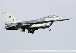 F-16 Netherlands Air Force - J-643