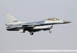 F-16 Netherlands Air Force - J-003