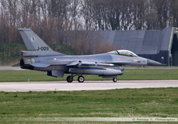 F-16 Netherlands Air Force - J-009