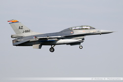F-16BM Netherlands Air Force - J-882