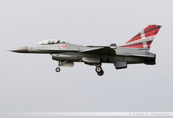 F-16 Danish Air Force - E-607