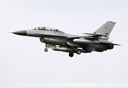 F-16BM Danish Air Force - ET-199
