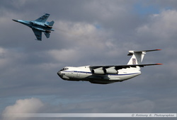 IL-76MD & SU-27 Ukrainian Air Force Break