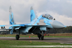 SU-27UB Ukrainian Air Force - 71