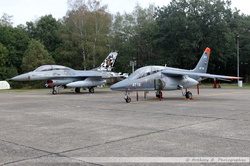 Belgian Air Force F-16 & Alphajet